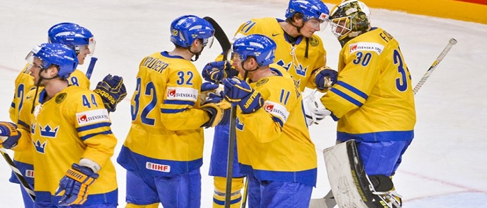 Betta på matcher under Sweden Hockey Games 2018